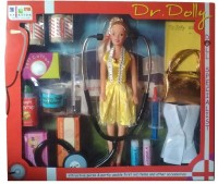 New Pinch Dr. Dolly Doctor Set For Kids