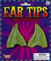 Forum Novelties Pointed Ear Tips Green (color May Vary)