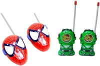 New Pinch Red & Green Walkie Talkie For Kids (color May Vary)