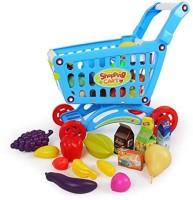 Bohui Pretend Play Supermarket Shopping Cart (color May Vary)