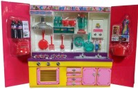 Shop & Shoppee Dora My Sweet Kitchen Set (Multicolor)) (color May Vary)