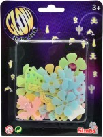Simba Glow In The Dark - Colourful Decoration Set Flower (color May Vary)
