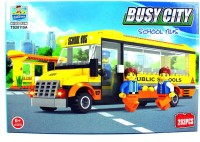 Baybeeshoppee Busy City School Bus