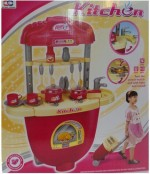 Xiong Cheng Role Play Toys Xiong Cheng Wot Kitchen Trolley