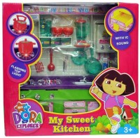 Zaprap Dora Kitchen Set Light And Sound (color May Vary)