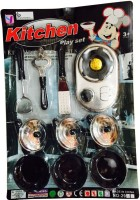 Rahul Toys Kitchen Set For Kids To Play