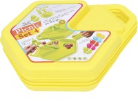 Tuelip All In One 12 Pcs Picnic Set-Yellow (color May Vary)