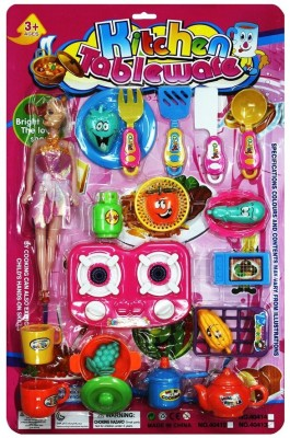 Shopaholic Role Play Toys Shopaholic Cooking Table Set