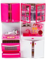 A R Enterprises Modern Doll Kitchen Set (color May Vary)