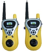 Play Grow Role Play Toys Play Grow Walkie Talkie Toy Set With Radio Control & Antenna
