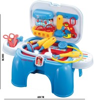 Smart Picks Kids Doctor Play Set - Can Convert Into Sitting Bench (color May Vary)