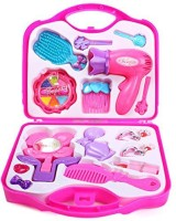WebKreature Fashion Beauty Set For Girls With Suitcase (color May Vary)