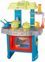 Xiong Cheng Role Play Toys Xiong Cheng Wot Kitchen Play Set