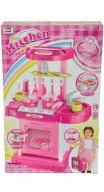 Zest4toyZ Role Play Toys Zest4toyZ Kitchen Set Pink