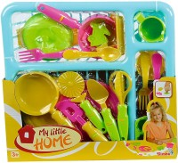 Simba Dishes And Cutlery Set (color May Vary)