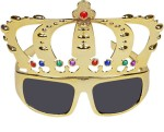 Funcart Role Play Toys Funcart Gold Crown Glasses