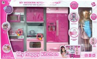 VTC My Modern Kitchen Play Set With Doll (color May Vary)