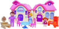 Emob My Sweet Family Dream Doll House And Play Set (color May Vary)