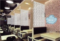 Planet Decor Plastic Decorative Screen Partition (Hanging, Finish Color - White) - RDPEFY86ZYA8GXY5