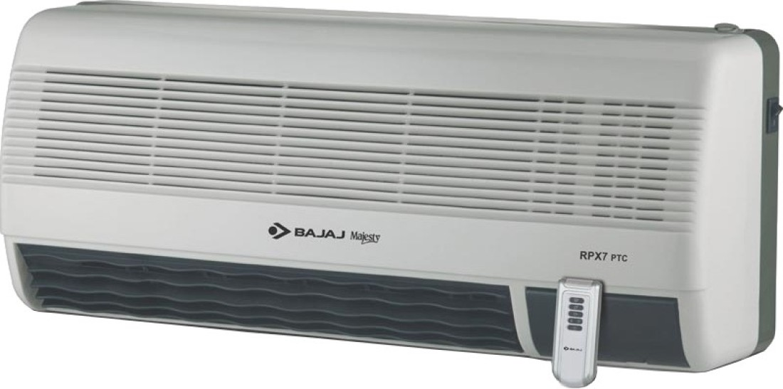 Bajaj Majesty Rpx  Ptc Wall Mount Room Heater