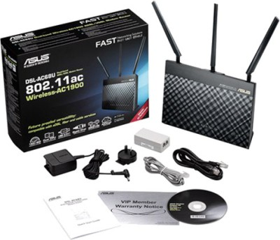 Asus DSL-AC68U Dual Band Wireless AC1900 VDSL / ADSL Modem Router