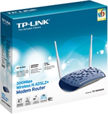 TP-Link TD-8960N 300 Mbps Wireless N ADSL2+ Modem Router