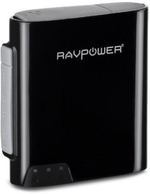 RAVPower FileHub Wireless Travel Router (Black)