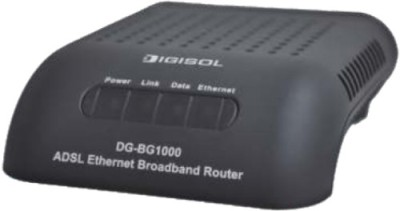 Digisol ADSL2/2 Single Port Ethernet Broadband Router