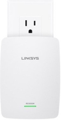 Linksys RE3000W N300 Wi-Fi Range Extender (White)