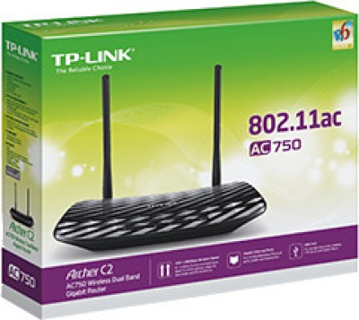 TP-LINK Archer C2 AC750 Wireless Dual Band Gigabit Router
