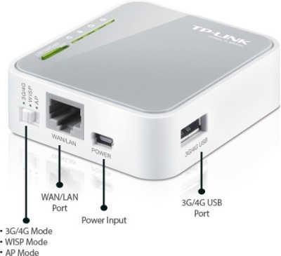 TP-Link TL-MR3020 Portable 3G/4G DONGLE Wireless N Router N150  ...