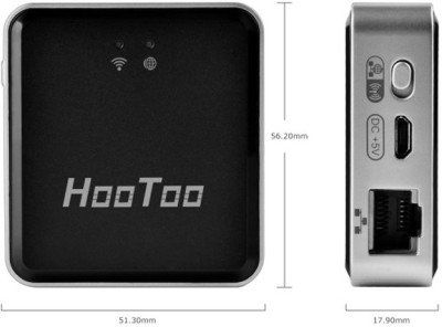 HooToo TripMate Nano HT-TM02 Wireless N Pocket Router (Black)