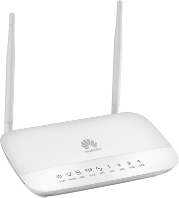 Huawei HG532D: ADSL2+ 300 Mbps Modem With Router (White)