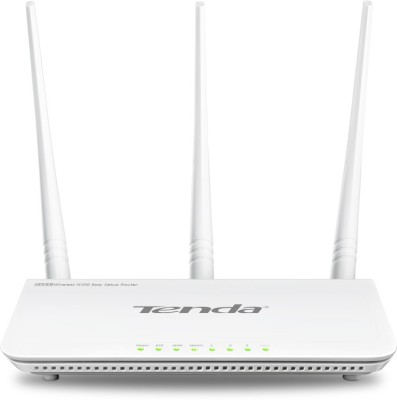 Tenda F303 Wireless N300 Easy Setup Router (White)