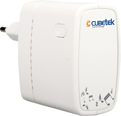 Cubetek Airmobi iPlay2 Wifi Music Router (White)
