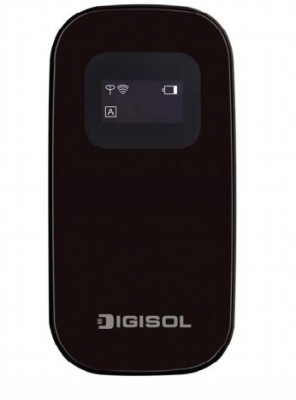 Digisol 150 Mbps Wireless 3G MiFi Broadband Router (Black)