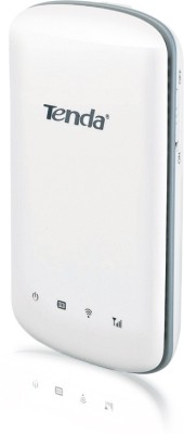 Tenda 3G186R 150 Mbps Wireless Nn150 Travel Router for WCDMA Network (White)