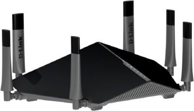 D-Link DIR-890L Ultra AC3200 Tri-Band Gigabit Wi-Fi Router Black (Black)