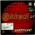 Donic Akkadi L2 OX Table Tennis Rubber - Red