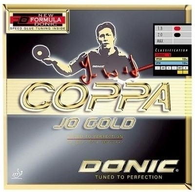 Buy Donic Coppa JO Gold Max Table Tennis Rubber: Rubber