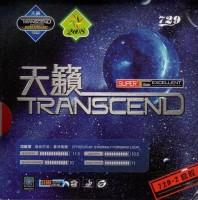 Friendship Transcend Cream 11.3 Mm Table Tennis Rubber (Black)