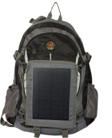 Sunlast T002 Black Tracker Backpack With Solar Mobile Charger Rucksack  - 60 L Black