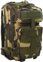 Psylane Tactical 30L Backpack For Outdoor Camping Hiking Trekking Rucksack  - 30 L Jungle Camouflage