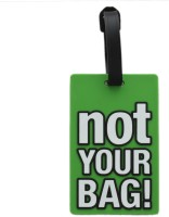 Tootpado Travel Bag - Not Your Bag (Pack Of 2) Luggage Tag Green