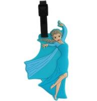 Tootpado Princess Cartoon Design Travel Bag - 1i388 Luggage Tag Blue