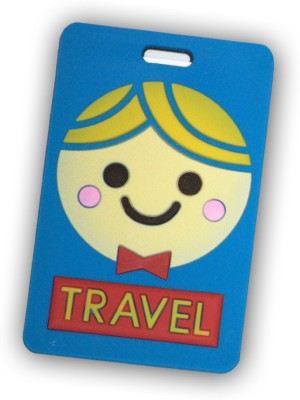 EZ LIFE Funky Luggage Tag Blue