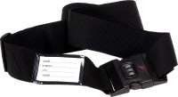 The Holiday Essentials Travel Luggage Strap Black