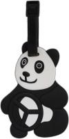 Tootpado Panda Cartoon Design Travel Bag - 1i393 Luggage Tag Black