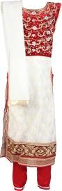 Zabacc Embellished Churidar Suit