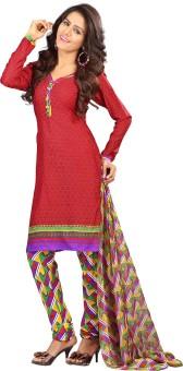 Lookslady Floral Print Churidar Suit